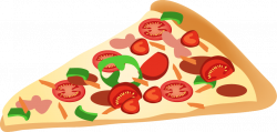 Pizza Slice Clipart transparent PNG - StickPNG