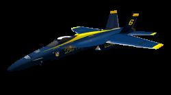US Navy FA/18 Hornet (Blue Angels) | Inkscape