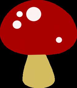 Red Mushroom Clip Art at Clker.com - vector clip art online, royalty ...