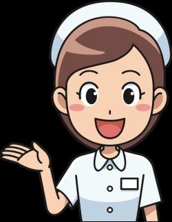 Clipart - Cheerful Nurse (#2)