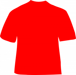 Red Shirt Clip Art at Clker.com - vector clip art online, royalty ...