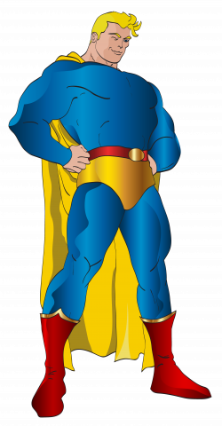 Superhero PNG Clip Art Image | Gallery Yopriceville - High-Quality ...