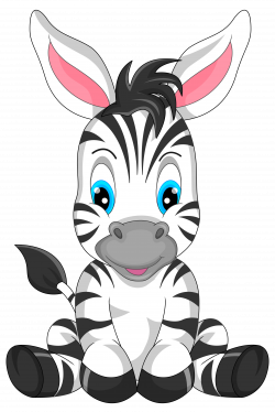 Cute Zebra Cartoon PNG Clipart Image | Gallery Yopriceville - High ...