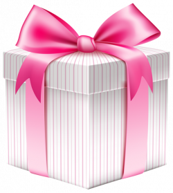 White Striped Gift Box PNG Picture | Planner Happiness | Pinterest ...