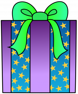 Happy birthday present clipart free images 2 - Clipartix