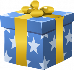 Clipart present gift box - Graphics - Illustrations - Free Download ...
