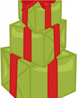 Birthday Present Clipart Stacked Present - Christmas Stack ...
