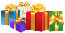 Christmas gifts vector png image – Christmas card and gift 2018