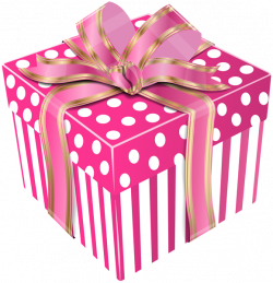 Cute Pink Gift Box Transparent PNG Clip Art Image | Gift Boxes ...