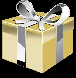 Golden Gift Clip Art at Clker.com - vector clip art online, royalty ...