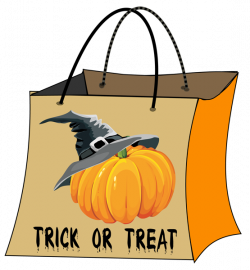 28+ Collection of Halloween Treat Bag Clipart | High quality, free ...