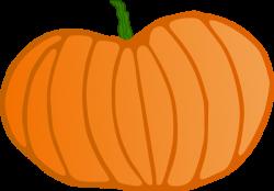 Large Pumpkin Clipart