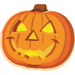 28+ Collection of Evil Jack-o-lantern Clipart | High quality, free ...