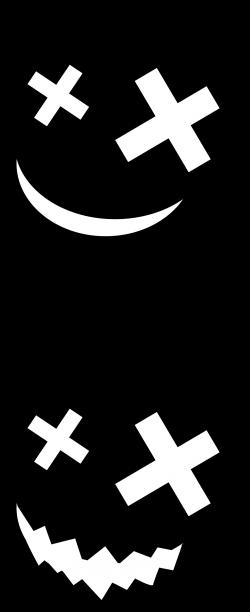Clipart - Halloween - Pumpkin Silhouettes