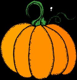 Pumpkin Simple Clip Art at Clker.com - vector clip art online ...