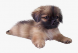Cute Puppy Clipart - Real Cute Animal Png #109328 - Free ...