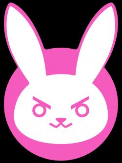 I love this D.va bunny logo so much! | DIY | Pinterest | Bunny logo ...