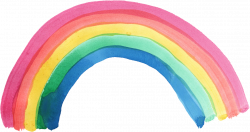 5 Watercolor Rainbow (PNG Transparent) | OnlyGFX.com