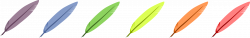 Clipart - Feathers