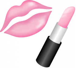 kissing_lips_with_pink_lipstick_by_r_bleiy | Cosmetics | Pinterest ...