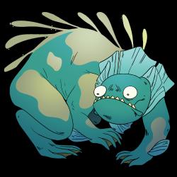 Monster Lizard Gem | Steven Universe Wiki | FANDOM powered by Wikia