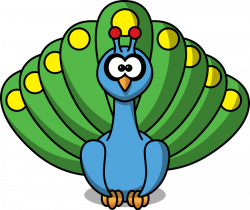 Peacock Clipart Black And White   Clipart Panda - Free Clipart Images