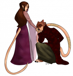 Royal Alchemist X Princess (Anthro Rat x hybrid(rat/human) LONG TERM ...