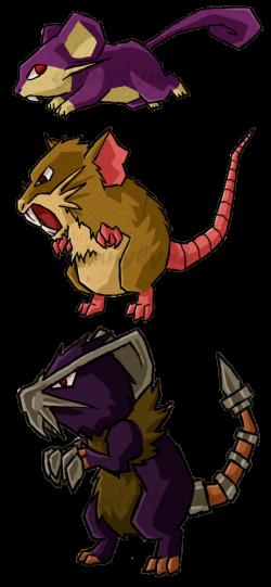 Pokemon Rats WWS by the19thGinny on DeviantArt