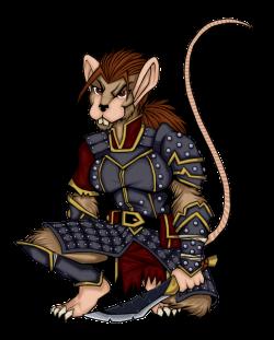 Female Were Rat Colored by Redmonkey-Da on DeviantArt