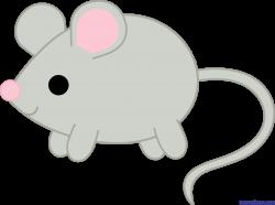 Gray Mouse Clip Art - Sweet Clip Art