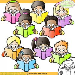 Clipart Reading Kids Clipart Kids Reading Clipart Clip Art