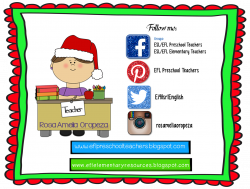 EFL Elementary Teachers: Christmas Flashcards