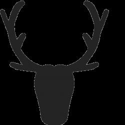 Elk Antler Silhouette at GetDrawings.com | Free for personal use Elk ...