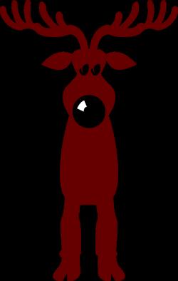 Reindeer | Free Stock Photo | Illustration of a cartoon reindeer ...