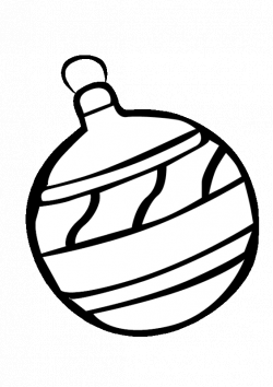 Christmas Light Bulb Coloring Page | Clipart Panda - Free Clipart Images