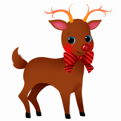 19 Reindeer clipart HUGE FREEBIE! Download for PowerPoint ...