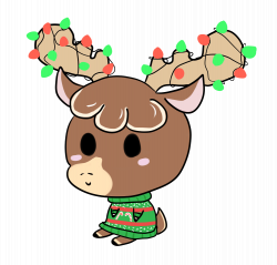 Image - Cute reindeer1.gif | Animal Jam Clans Wiki | FANDOM powered ...