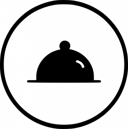 Kitchen Appliances Dinner Plate Dish Restaurant Svg Png Icon Free ...