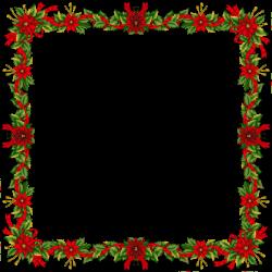 christmas frames | Large Christmas Transparent PNG Photo Frame ...