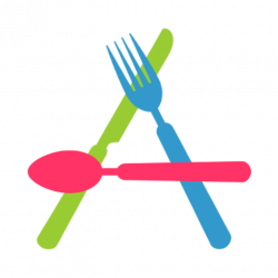 28+ Collection of Colorful Spoon And Fork Clipart | High quality ...