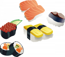 free vector Sushi Set clip art graphic available for free download ...