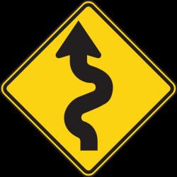 Left Winding Road Clip Art at Clker.com - vector clip art online ...