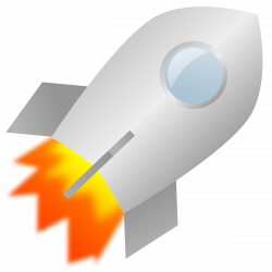 Clipart - Toy rocket