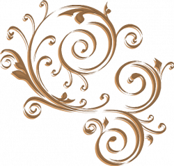 Swirls png | gold_swirl_png.png | swirl | Pinterest | Svg file, Clip ...