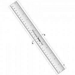30cm ruler to print ruler - Printable 360 Degree