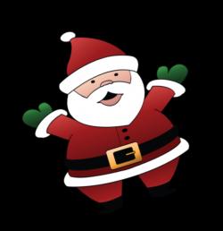 Santa christmas clip art - Clipartix