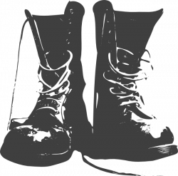 28+ Collection of Santa Boots Clipart Black And White | High quality ...
