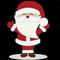 14+ Cute Santa Clipart | ClipartLook