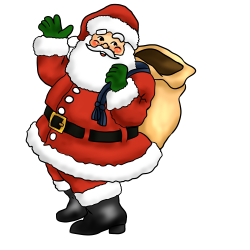 28+ Collection of Fat Santa Clipart | High quality, free cliparts ...