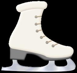 CHRISTMAS / WINTER WHITE ICE SKATE CLIP ART   ZIMA   Pinterest ...